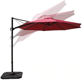 COBANA Offset Cantilever Patio Umbrella
