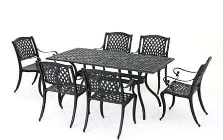 Christopher Knight Home 7-piece Cayman Outdoor dining set