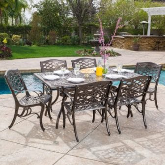 Christopher Knight Home 7-piece Hallandale Dining Set