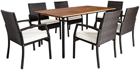 Fit Right 7-piece Outdoor Dining Set