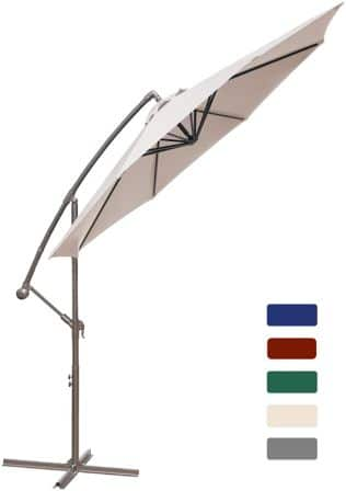 HASLE OUTFITTERS Offset Cantilever Patio Umbrella