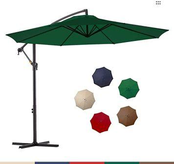 Le Conte Patio Offset Umbrella