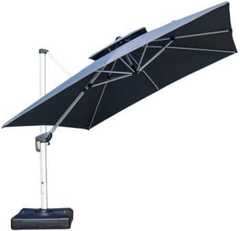 PURPLE LEAF Patio Square Cantilever Umbrella