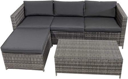 SUNVIVI OUTDOOR 5 Piece Patio Furniture Sets