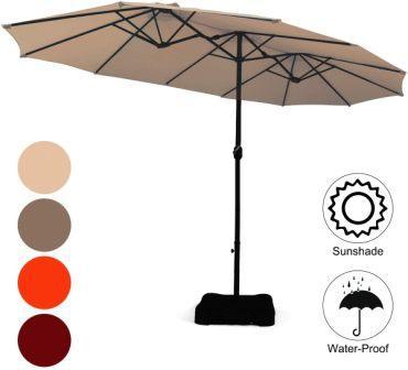 Tangkula Patio Umbrella with Base