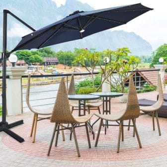 Top 15 Best Cantilever Patio Umbrellas - Ultimate Guide & Reviews 2020