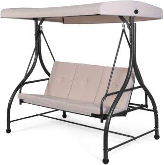 U-MAX Attractive Outdoor Swing-cum-Flat Bed