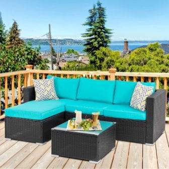 Walsunny Outdoor Furniture Patio Sets