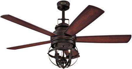 Westinghouse Lighting 7217100 Stella Mira 52-Inch Vintage Ceiling Fan