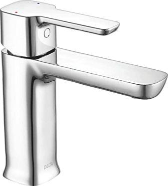 Delta 581LF-PP Single-Handle Chrome Bathroom Faucet