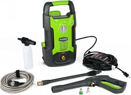 Green Works 1500 PSI Electric Pressure Washer