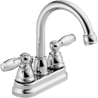 Peerless Claymore Centerset Chrome Bathroom Faucet