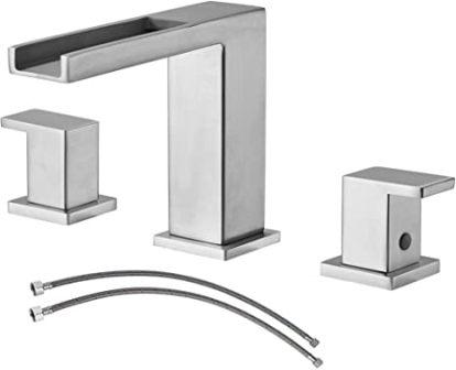 Ufaucet Waterfall Widespread Bathroom Faucet