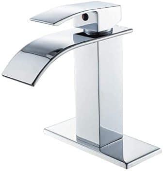 VOTON Waterfall Chrome Bathroom Faucet