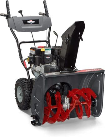 Briggs & Stratton 24″ Dual-Stage Snow Blower w/Electric Start and 208 Snow Series Engine, 1024 (1696610)