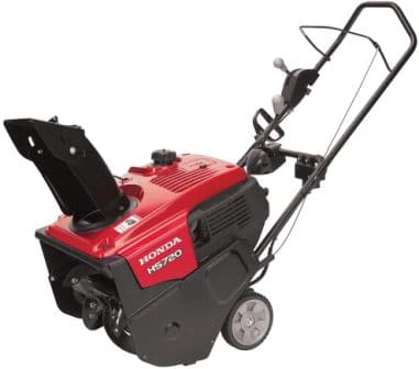 Honda Power Equipment HS720ASA 20″ 187cc Single-Stage Snow Blower with Dual Chute Control and Electric Starter
