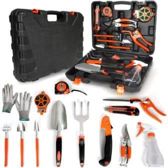 KORAM 13-Pieces Garden Tools Kit