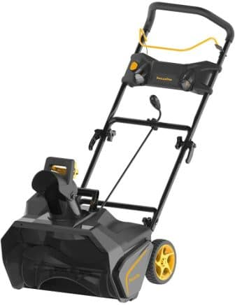 Poulan Pro 961820015 136cc Single Stage Snow Thrower, 21-Inch
