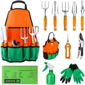 UKOKE UGP02G Garden Tool package