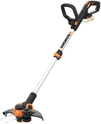 """Worx WG163.9 20V Cordless Grass Trimmer/Edger with Command Feed, 12"""" Tool ONLY"""